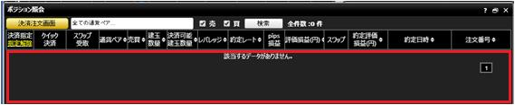 minnano-fx ポジション照会